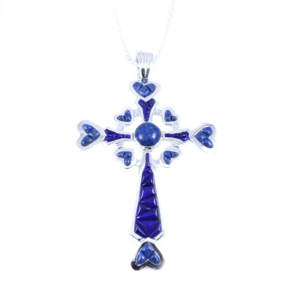 Ben Nighthorse-Cross My Heart Pendant-Sorrel Sky Gallery-Jewelry