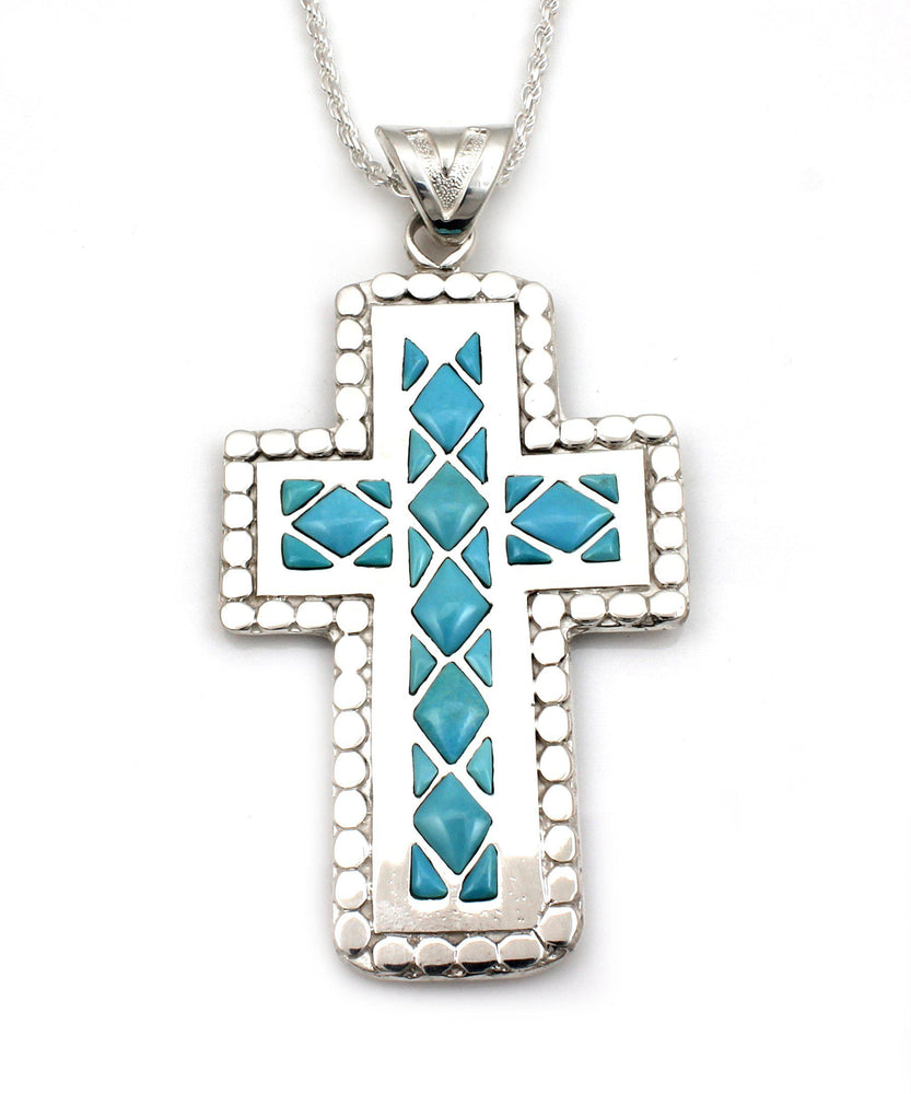 Cross Of Diamond Pendant
