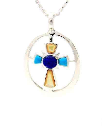Cross Of The Morning Star Pendant