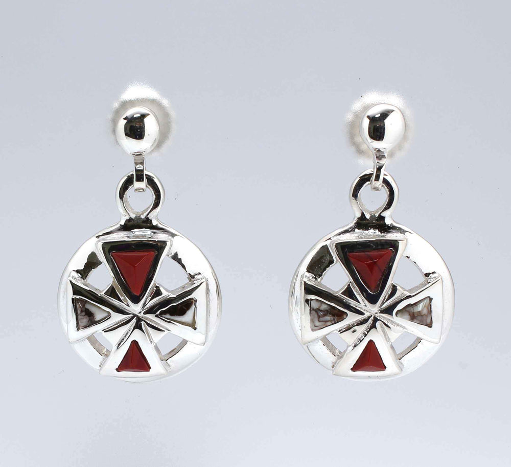 Diamond Cross #2 Earrings