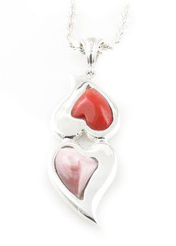 Double Hearts Pendant