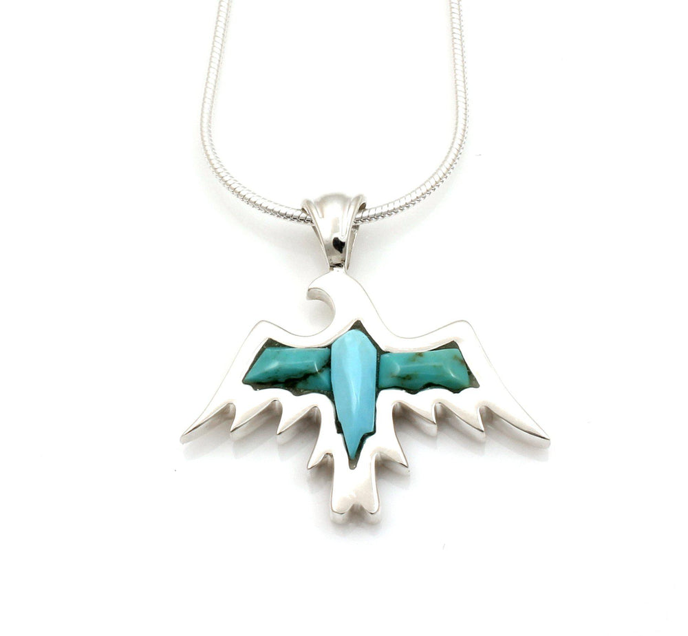 Eagle Pendant-Jewelry-Ben Nighthorse-Sorrel Sky Gallery