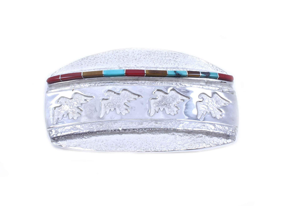 Ben Nighthorse-Eagles With Inlay Buckle-Sorrel Sky Gallery-Jewelry
