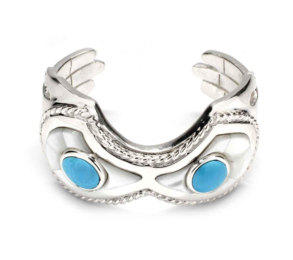 Eyes and Hands Cuff Bracelet