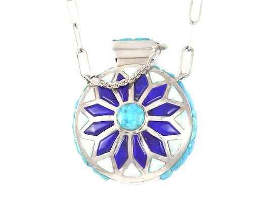 Ben Nighthorse-Flask Pendant-Sorrel Sky Gallery-Jewelry