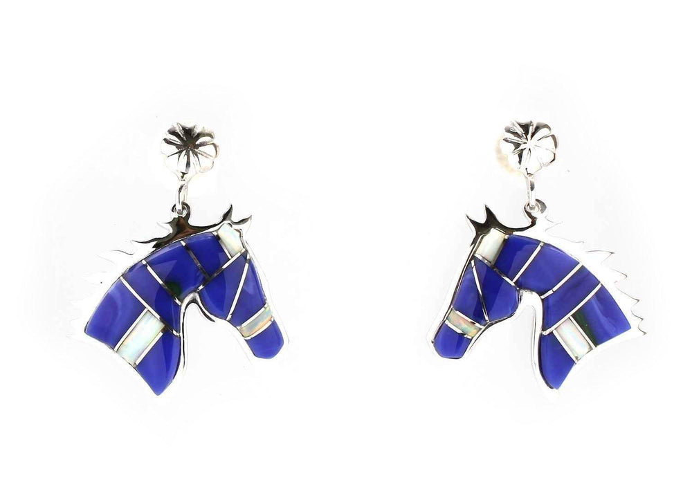 Head Of A Horse Earrings
