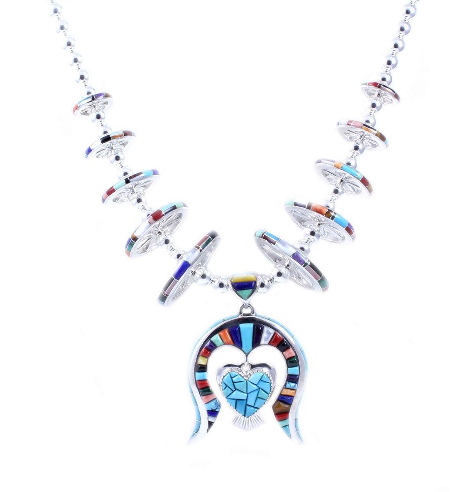 Ben Nighthorse-Heart Of Naja Necklace-Sorrel Sky Gallery-Jewelry