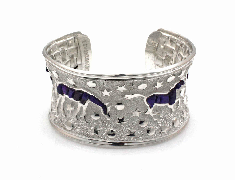 Heavenly Horse Cuff Bracelet-Jewelry-Ben Nighthorse-Sorrel Sky Gallery