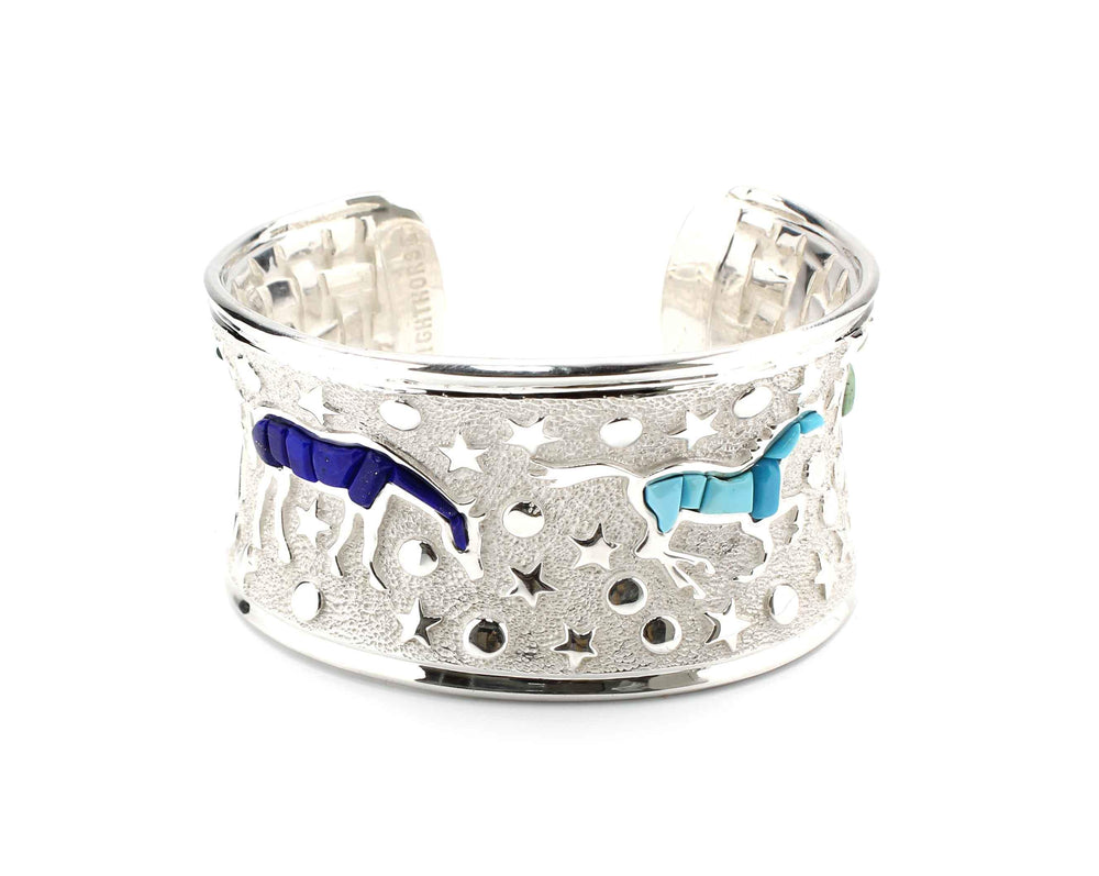 Ben Nighthorse-Heavenly Horses Bracelet-Sorrel Sky Gallery-Jewelry