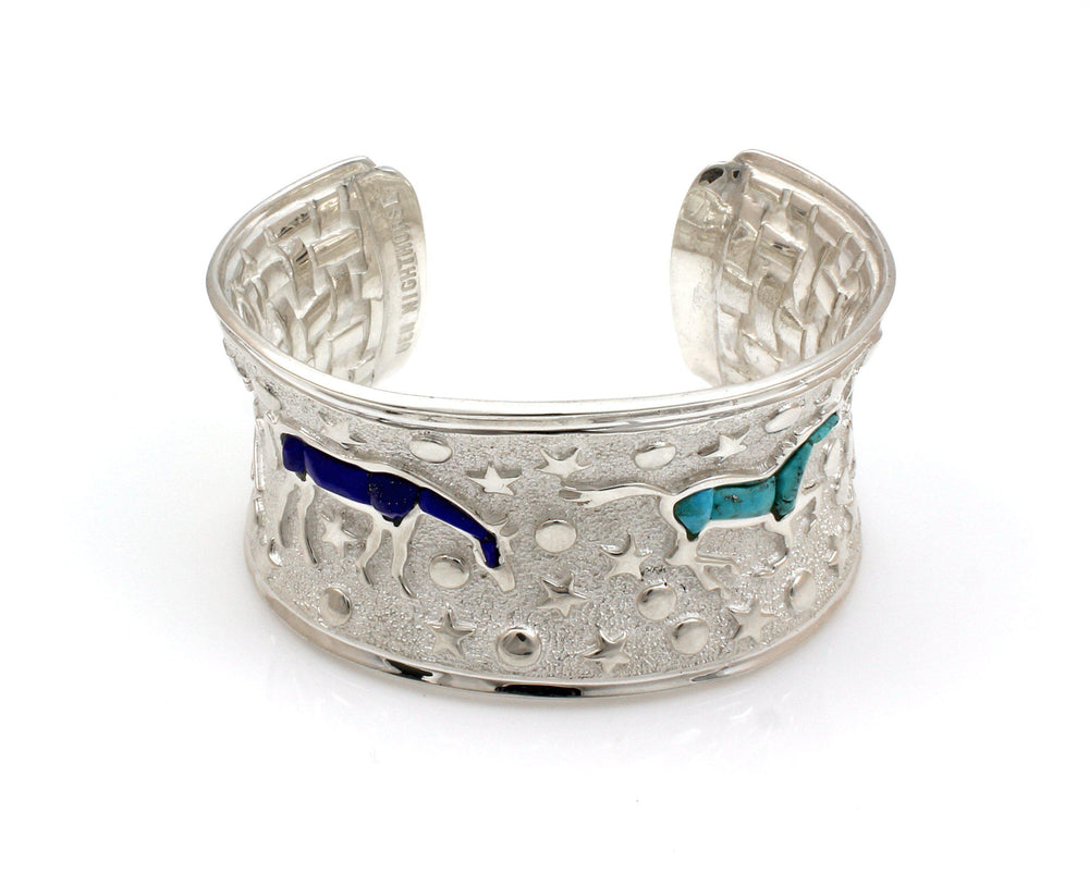 Heavenly Horses Cuff Bracelet
