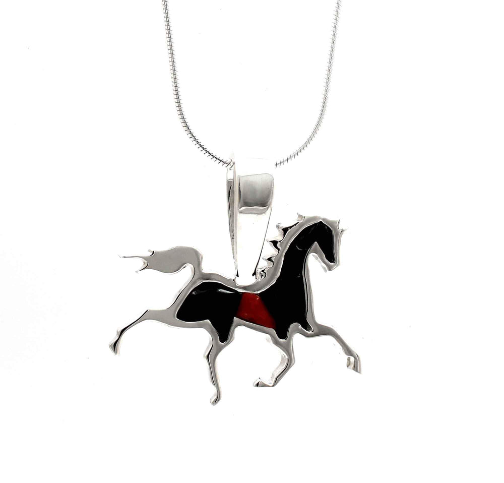 High Stepping Horse Pendant