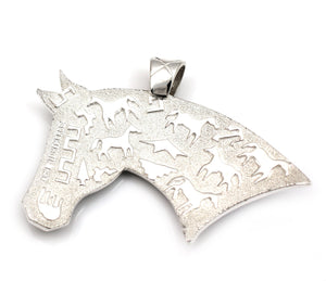 Horse Head Pendant-Jewelry-Ben Nighthorse-Sorrel Sky Gallery