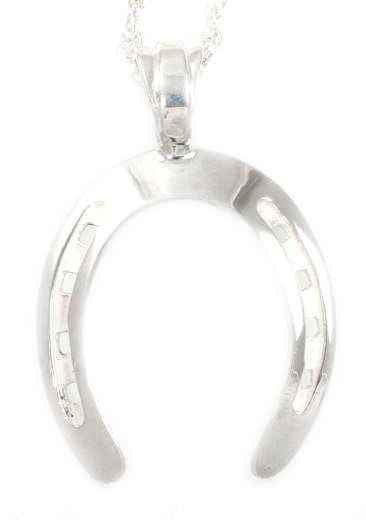 Ben Nighthorse-Horse Shoe Pendant-Sorrel Sky Gallery-Jewelry