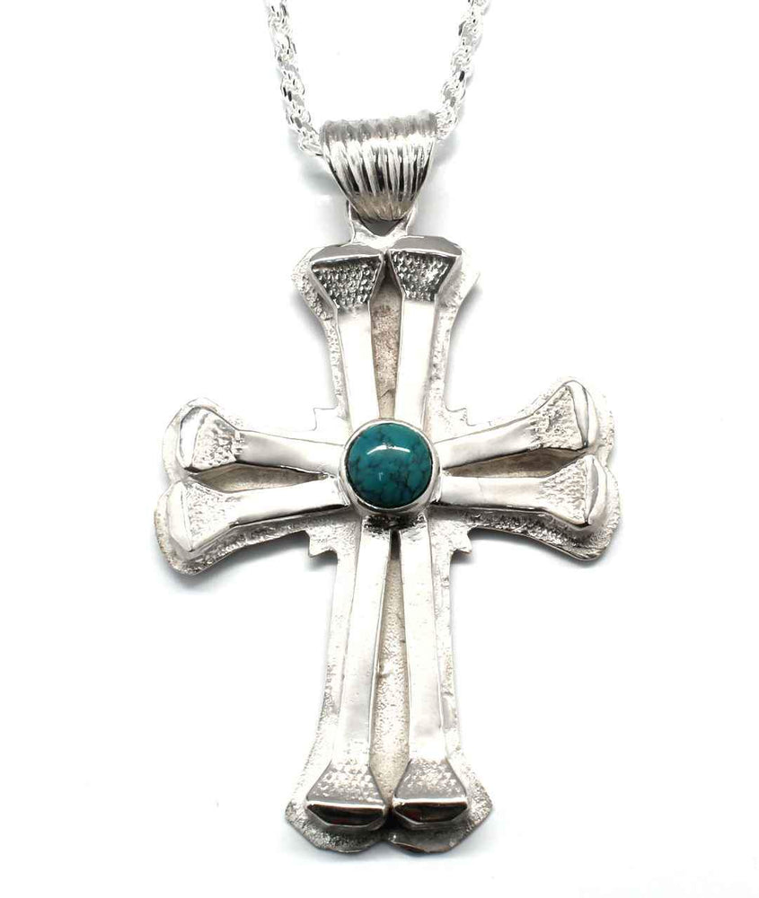 Large Eight Nail Cross
