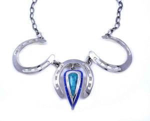 Ben Nighthorse-Lucky Horse Necklace-Sorrel Sky Gallery-Jewelry
