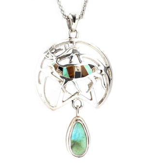Ben Nighthorse-Mountain Monarch Pendant-Sorrel Sky Gallery-Jewelry