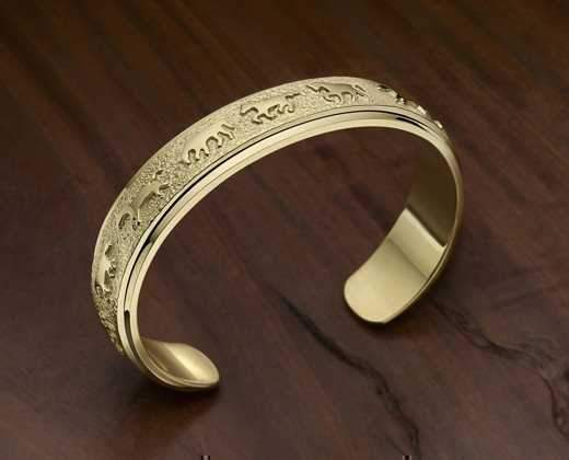 Narrow Running Horse Bracelet