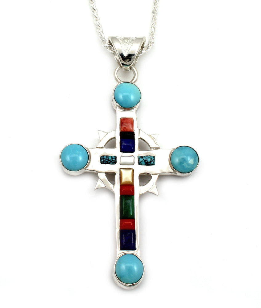 Old Wooden Holy Cross Pendant