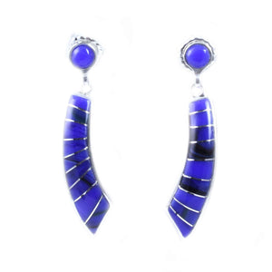Ben Nighthorse-Rainbow Earrings-Sorrel Sky Gallery-Jewelry