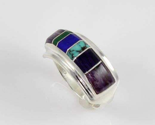 Ben Nighthorse-Rectangular Band II-Sorrel Sky Gallery-Jewelry