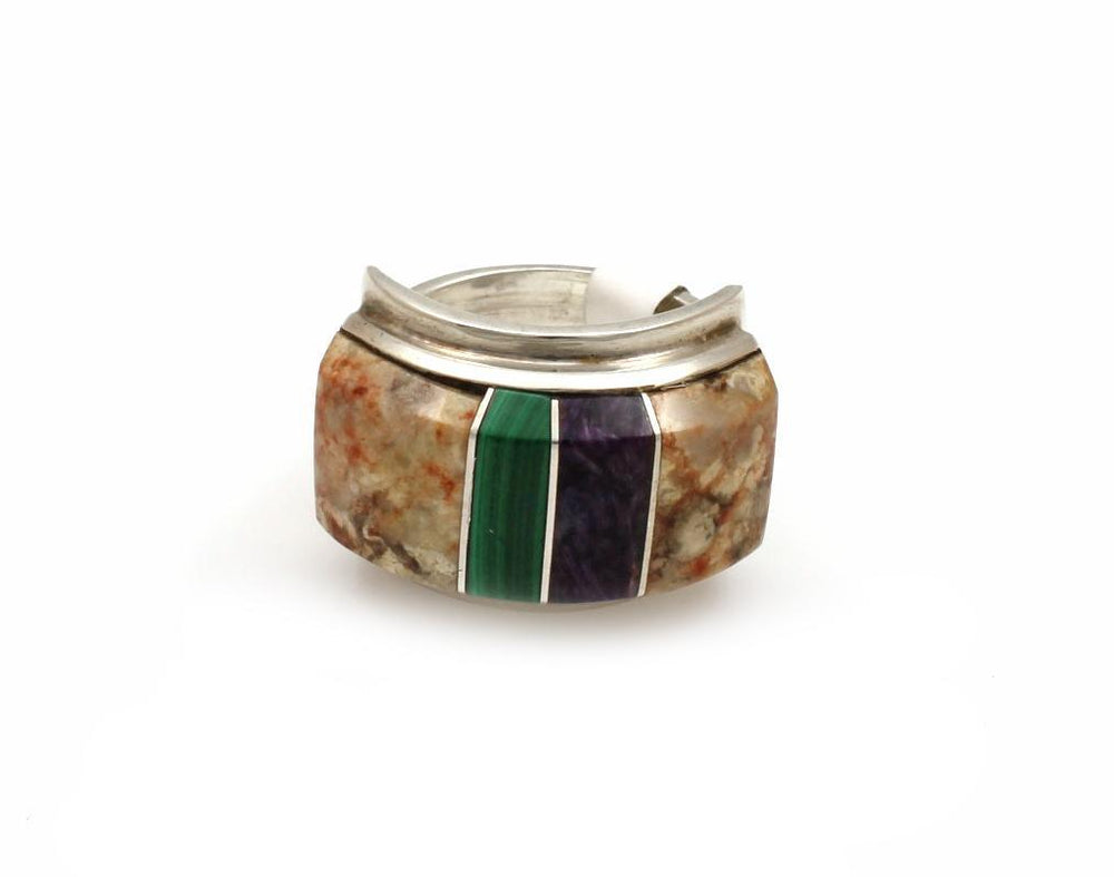 Rectangular Band Ring-Jewelry-Ben Nighthorse-Sorrel Sky Gallery