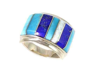 Ben Nighthorse-Rectangular Band-Sorrel Sky Gallery-Jewelry