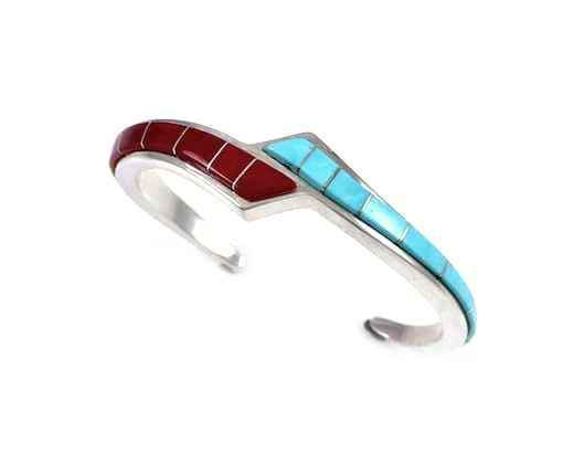Ben Nighthorse-Ribbon Bracelet-Sorrel Sky Gallery-Jewelry
