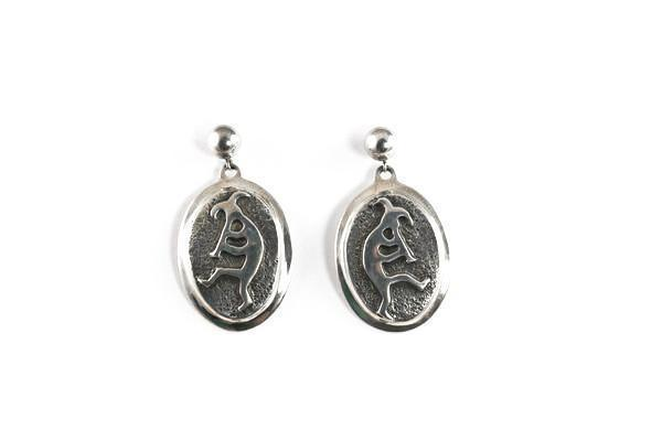 Rock Art Oval Earrings