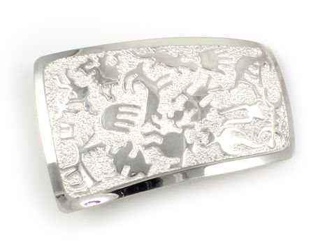 Rock Art Wedge Buckle