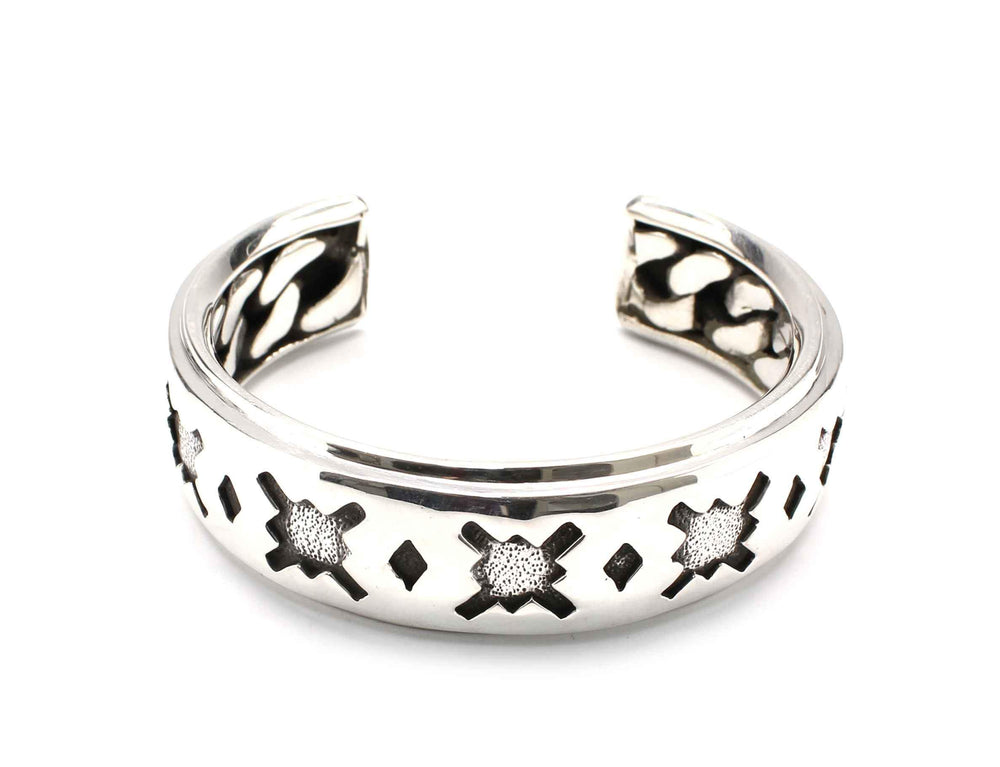 Roll Of Morning Star Cuff Bracelet