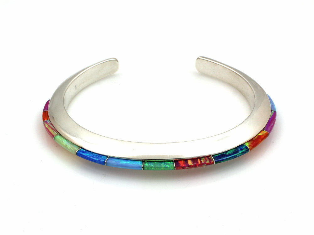 Slim Line Bracelet-Jewelry-Ben Nighthorse-Sorrel Sky Gallery