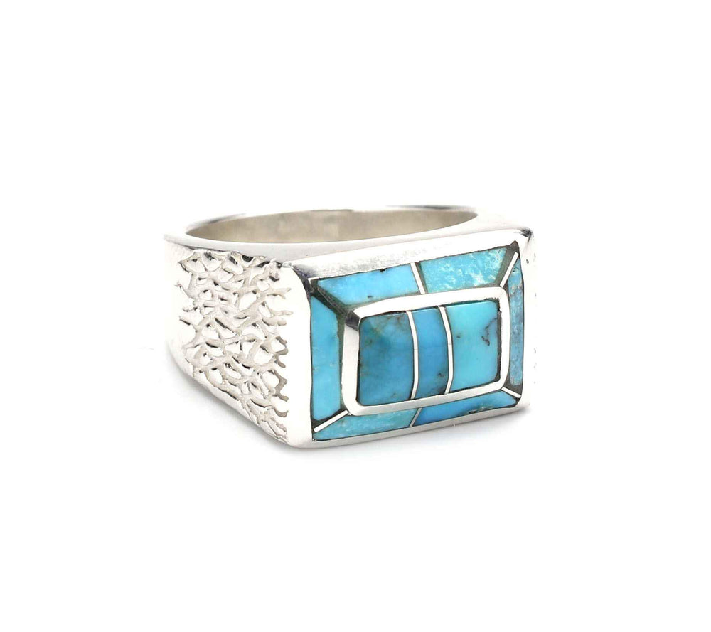 Small Double Rectangle Ring