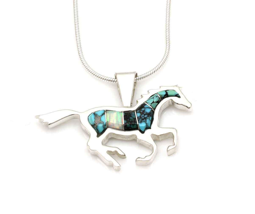 Small Running Horse Pendant
