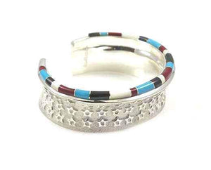 Ben Nighthorse-Stars On Stars Cuff Bracelet-Sorrel Sky Gallery-Jewelry