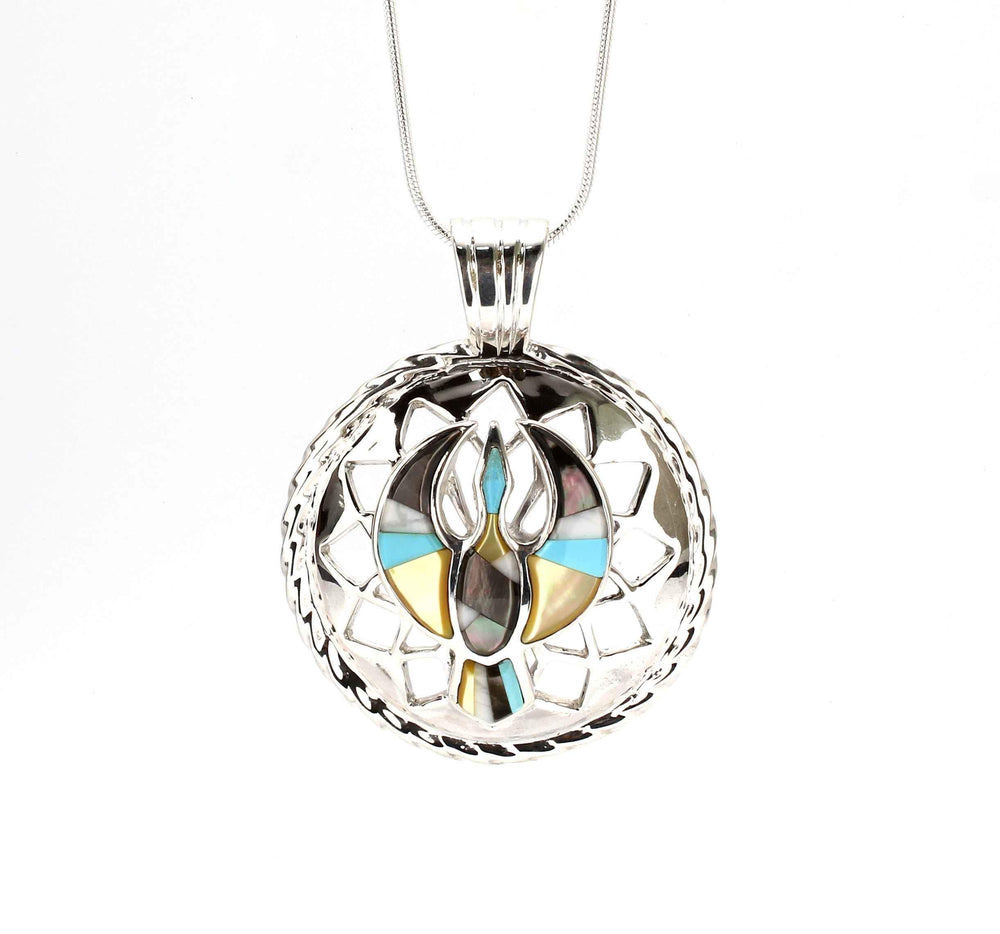 Ben Nighthorse-Sun Bird Pendant-Sorrel Sky Gallery-Jewelry