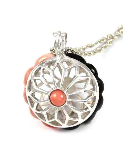 Ben Nighthorse-Sun Flower Flakes Pendant-Sorrel Sky Gallery-Jewelry