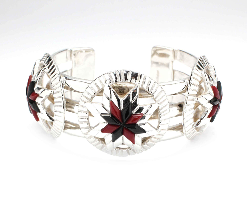 Three Bar Lakota Sioux Cuff Bracelet