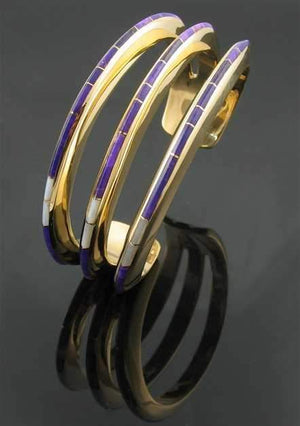 Ben Nighthorse-Triple Slim Line Bracelet-Sorrel Sky Gallery-Jewelry