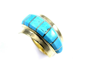 Ben Nighthorse-Wedge Band Ring-Sorrel Sky Gallery-Jewelry