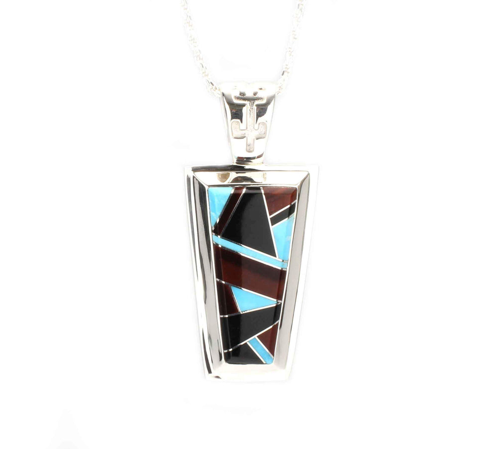 Wedge Inlay Pendant