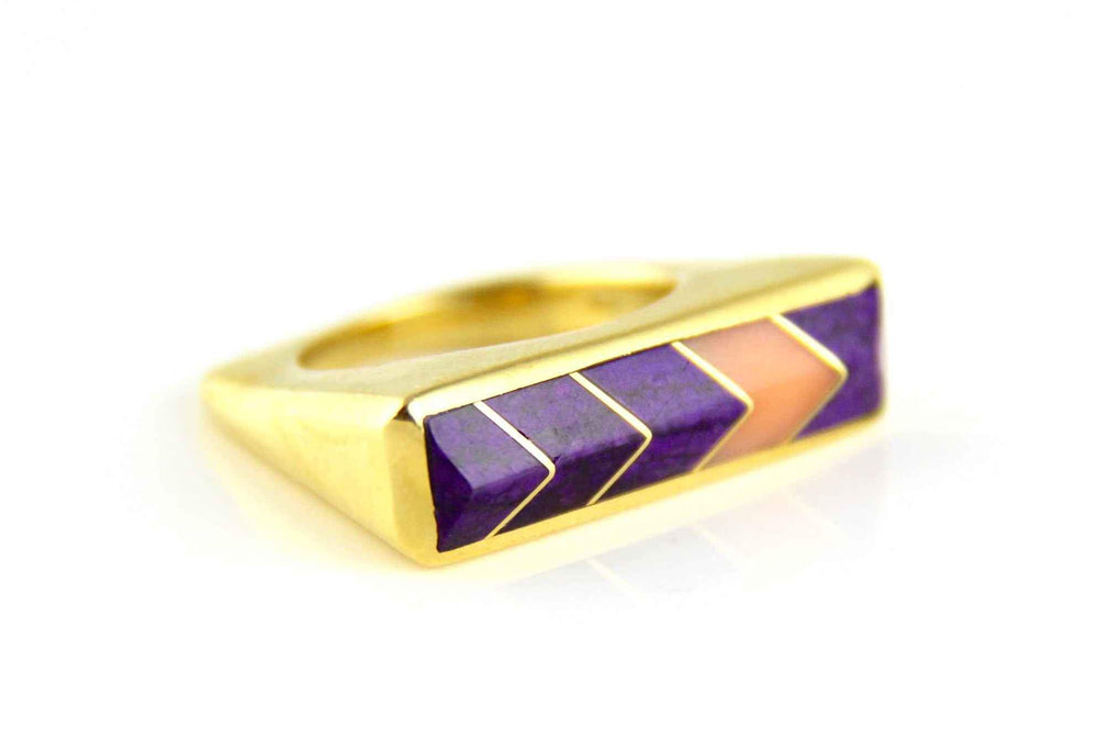 Ben Nighthorse-Sorrel Sky Gallery-Jewelry-Wedge Ring