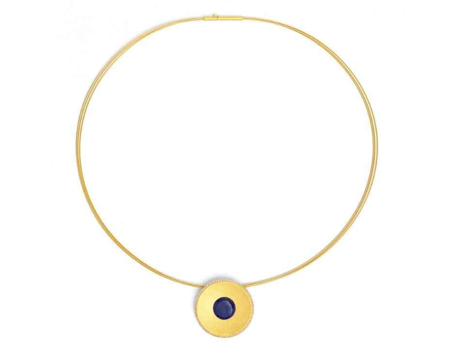 Celanni Lapis Necklace