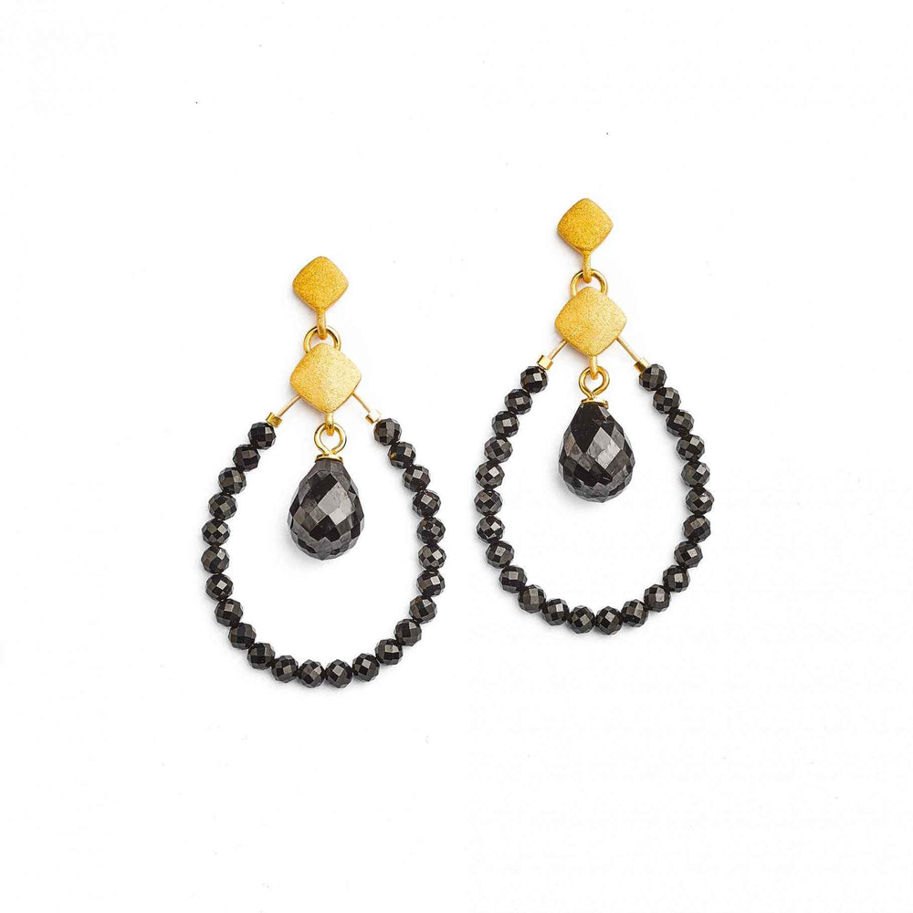 Clindro Drop Earrings