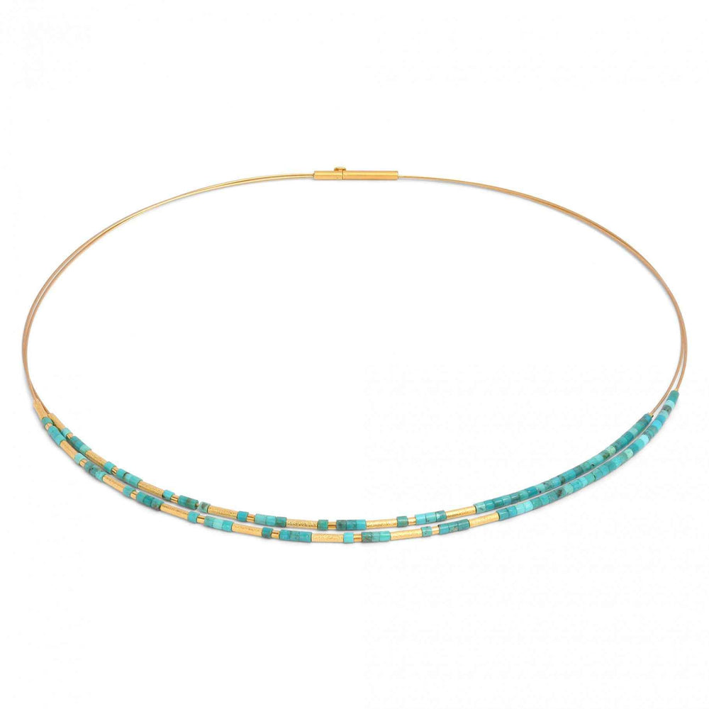 Clinni Turquoise Necklace-Jewelry-Bernd Wolf-Sorrel Sky Gallery