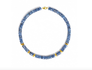 Ronjas Kyanite Necklace-Jewelry-Bernd Wolf-Sorrel Sky Gallery