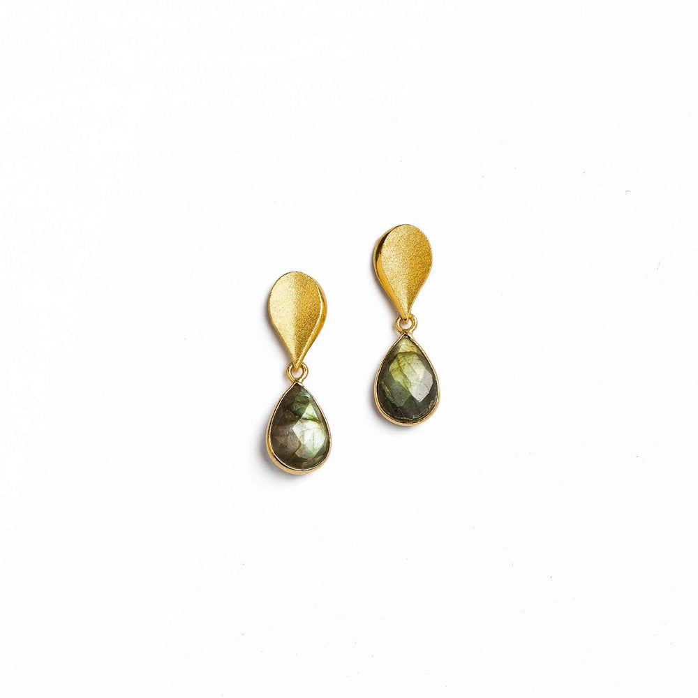 Sequini Drop Earrings-Jewelry-Bernd Wolf-Sorrel Sky Gallery