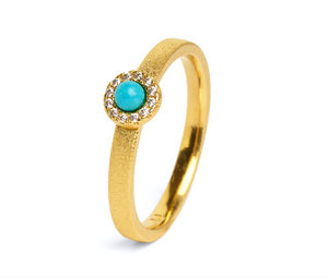 Tissy Turquoise Ring-Jewelry-Bernd Wolf-Sorrel Sky Gallery
