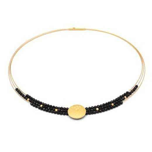 Bernd Wolf-Torena Black Spinel Necklace-Sorrel Sky Gallery-Jewelry