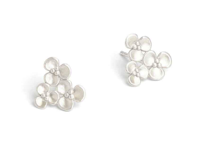 Triflora Earrings