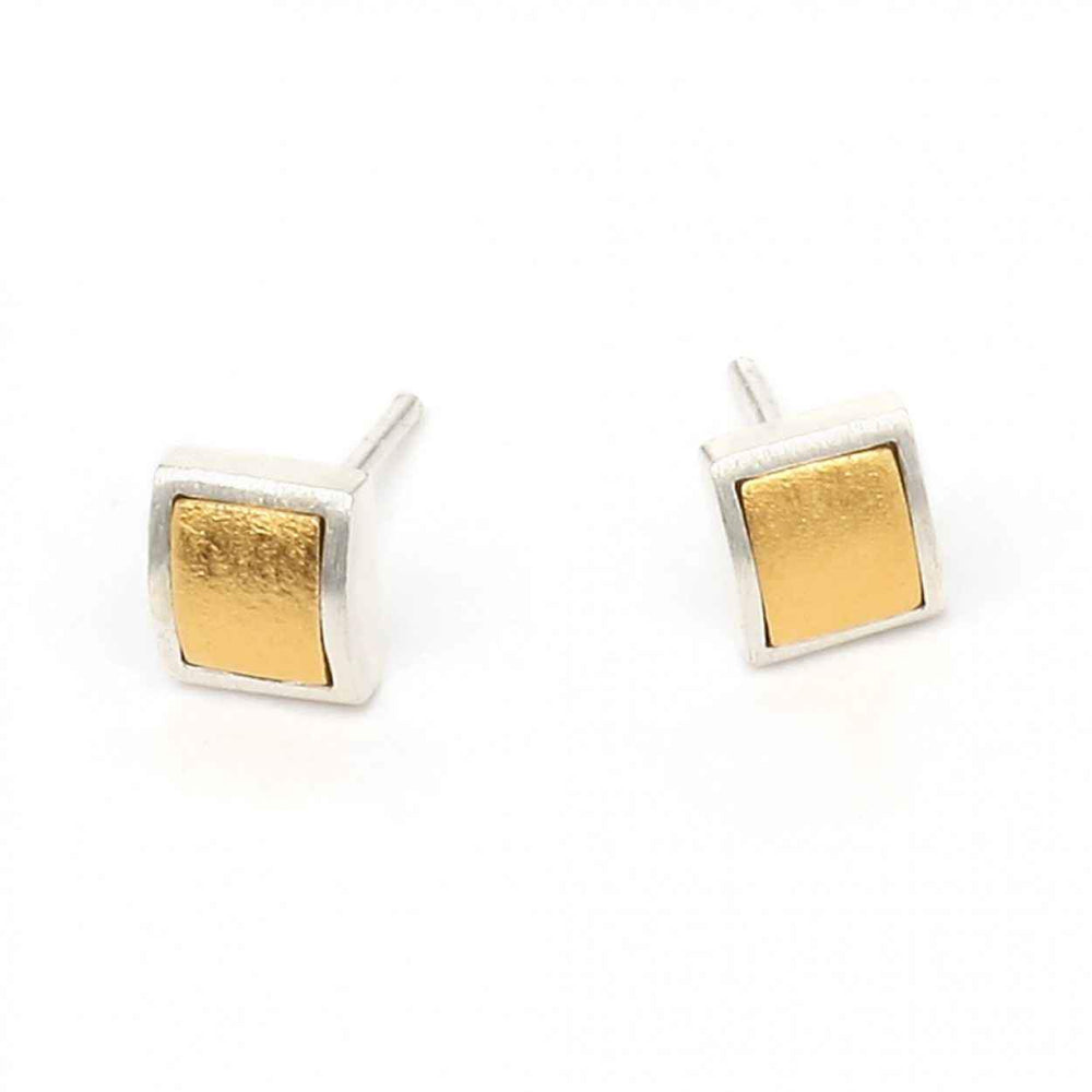 Two Tone Colini Earrings